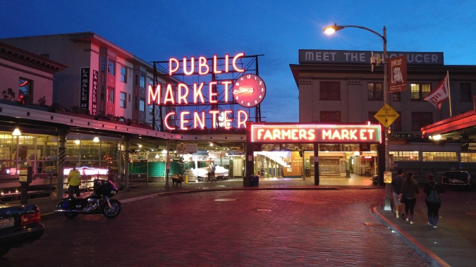 Pikes Place Market.