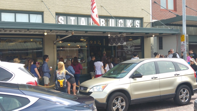 Starbucks started here.