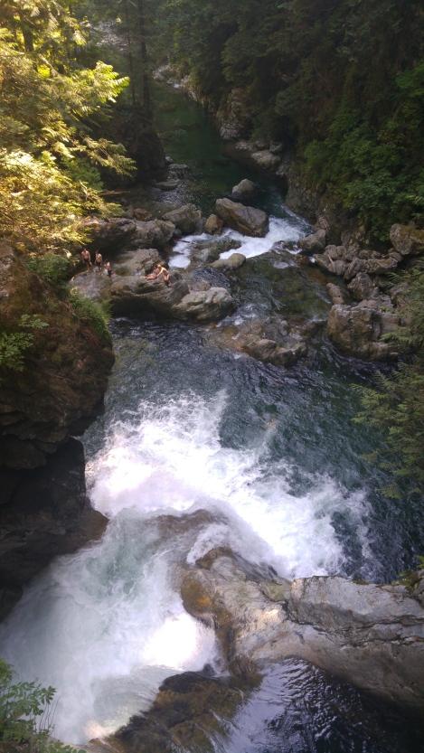 Twin Falls in Lynn Valley.